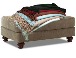 Peach Couture Certified Cashmere Chocolate Throw