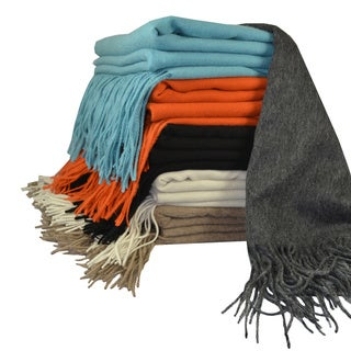 Cashmere Showroom Signature Merino Wool Luxury Throw