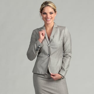 Calvin Klein Women's 2-button Notch Collar Jacket