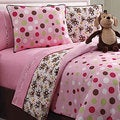 Monkey Reversible 3-Piece Twin-Size Comforter Set