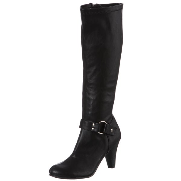CL by Laundry Women's Charmaine Black Boots