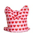Sitting Bull Mini Heartbeat Fashion Bean Bag