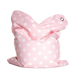 Sitting Bull Mini Bebe Pink Fashion Bean Bag