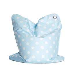 Sitting Bull Mini Bebe Blue Fashion Bean Bag