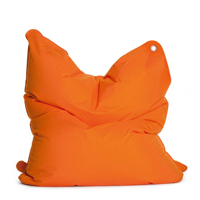 Sitting Bull 'The Bull' Orange Adult Bean Bag Chair