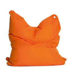 Sitting Bull The Bull Orange Bean Bag