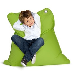 Sitting Bull Green Mini Bull Kid's Bean Bag Chair