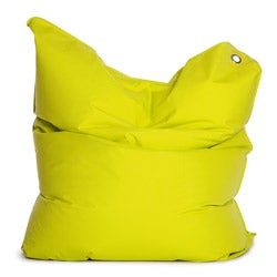 Sitting Bull The Bull Lime Green Bean Bag