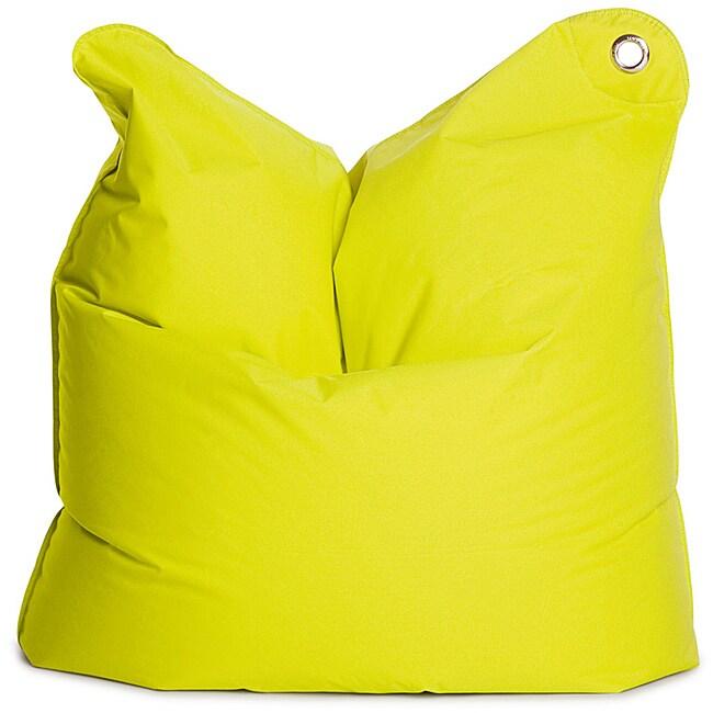 Sitting Bull Lime Green Medium Bull Bean Bag Chair
