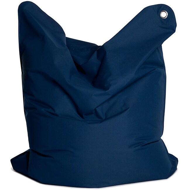 Sitting Bull USA Sitting Bull 'The Bull' Dark Blue Adult Bean Bag Chair at Sears.com