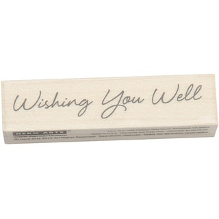 Hero Arts Little Greetings Wishing You Well Mounted Rubber Stamp