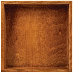 Wooden Square Shadowbox
