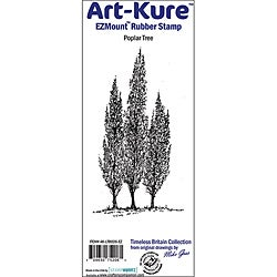 Art-Kure 'Poplar Tree' EZMount Cling Stamp