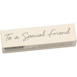 Hero Arts Little Greetings Special Friend Mounted Rubber Stamp