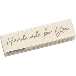 Hero Arts Large Handmade For You Mounted Rubber Stamp