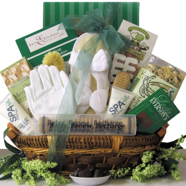 All Natural Hands & Feet Specialty Spa Gift Basket