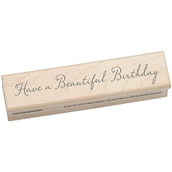 Hero Arts Beautiful Birthday Mounted Rubber Stamp