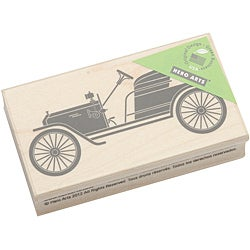 Hero Arts Vintage Car Mounted Rubber Stamp