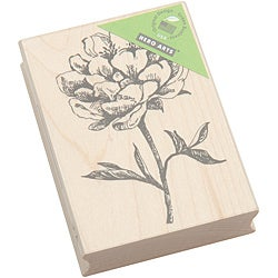 Hero Arts Classic Tea Flower Mounted Rubber Stamp