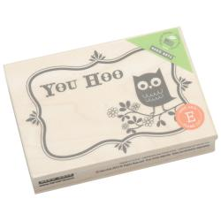 Hero Arts You Hoo Mounted Rubber Stamp