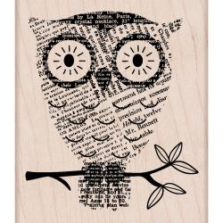 Hero Arts Big Eyes Mounted Rubber Stamp