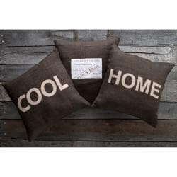 Cool Home Decorative 18-inch Down Pillows (3 piece set)
