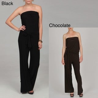 AnnaLee + Hope Women's Tube Top Jumpsuit