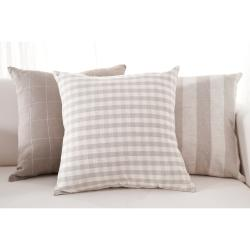 Neutral Decorative 18-inch Down Pillows (3 piece set)