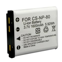 BasAcc Compatible Li-ion Battery for Casio NP-80
