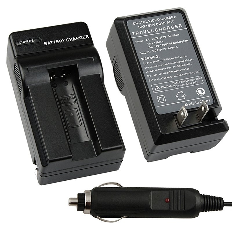 INSTEN Compact Battery Charger Set for Canon NB-9L