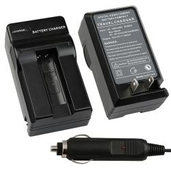 BasAcc Compact Battery Charger Set for Canon NB-9L