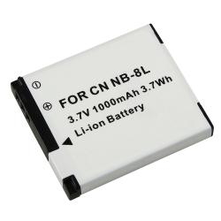 BasAcc Compatible Li-ion Battery for Canon NB-8L