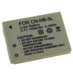 BasAcc Compatible Li-ion Battery for Canon NB-5L