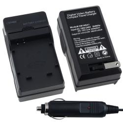 BasAcc Compact Battery Charger Set for Canon NB-4L