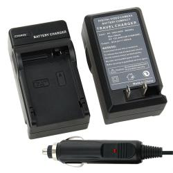 BasAcc Compact Battery Charger Set for Canon LP-E8