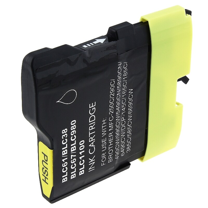 INSTEN Brother compatible LC61Y/ LC65Y Yellow Ink Cartridge