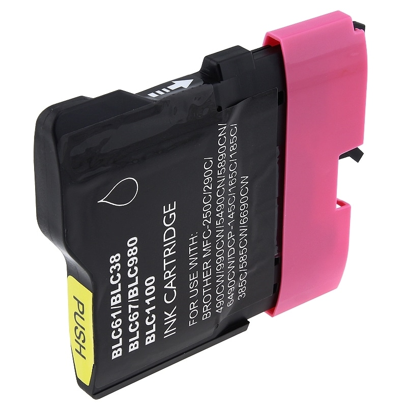 INSTEN Brother compatible LC61M/ LC65M Magenta Ink Cartridge