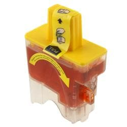 BasAcc Brother compatible LC41Y Yellow Ink Cartridge