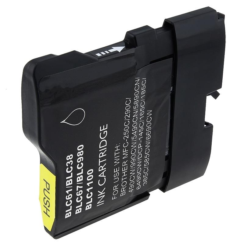 INSTEN Brother compatible LC61BK Black Ink Cartridge