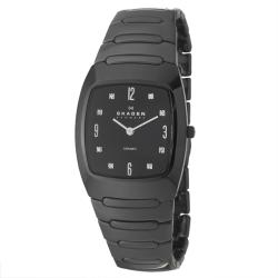 Skagen Men's 'Ceramic' Ceramic Black Ceramic Watch