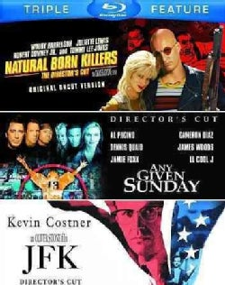 Natural Born Killers/Any Given Sunday/JFK (Blu-ray Disc)