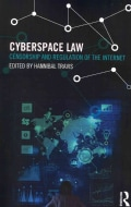 Cyberspace Law: Censorship and Regulation of the Internet (Paperback)