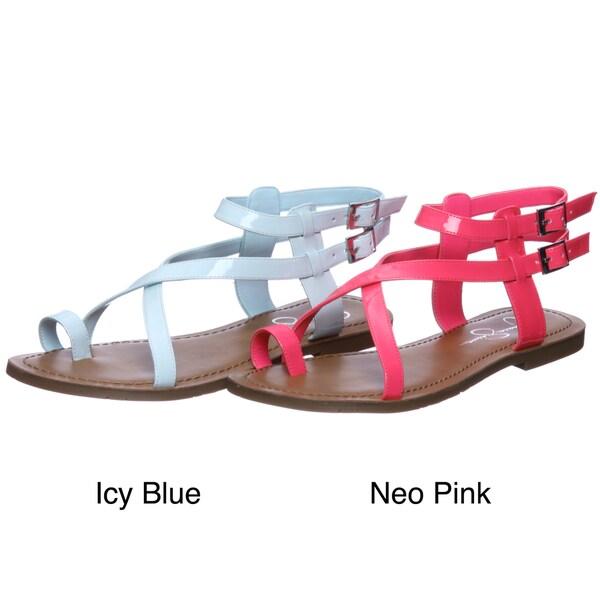 Jessica Simpson Women's 'JS-Derren' Flat Strappy Sandals FINAL SALE