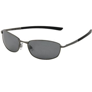 Body Glove 'Old Orchard' Men's Dark Gunmetal Mirrored Polarized Sunglasses