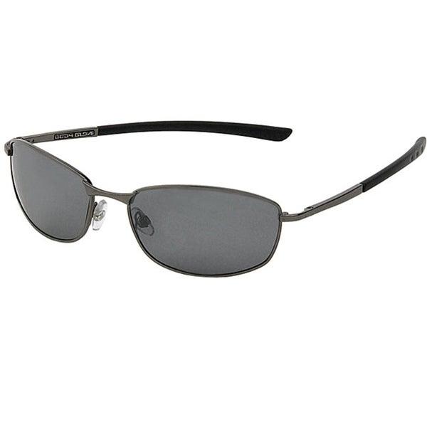 Body Glove 'Old Orchard' Men's Dark Gunmetal Mirrored Polarized Sunglasses