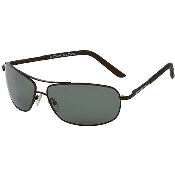 Body Glove 'Maui A' Men's Black Polarized Sunglasses