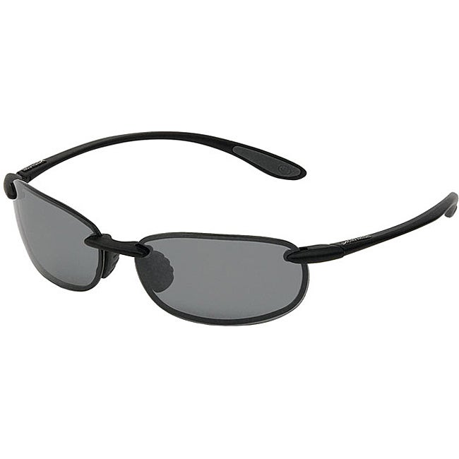 Body Glove 'Sandspit' Men's Black Polarized Sunglasses