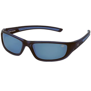 Body Glove 'Conchal B' Men's Black/Blue Mirrored Polarized Sunglasses