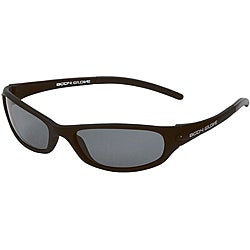 Body Glove 'Palm Beach A' Men's Matte Black/Smoke Polarized Sunglasses