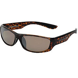 Body Glove 'Juno' Men's Brown Tortoise Mirrored Polarized Sunglasses
